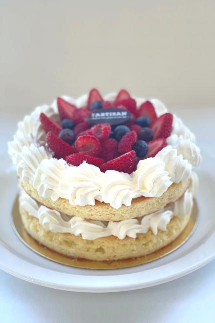 Gâteau fraise sans gluten