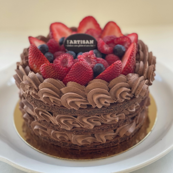 Gâteau champêtre chocolat