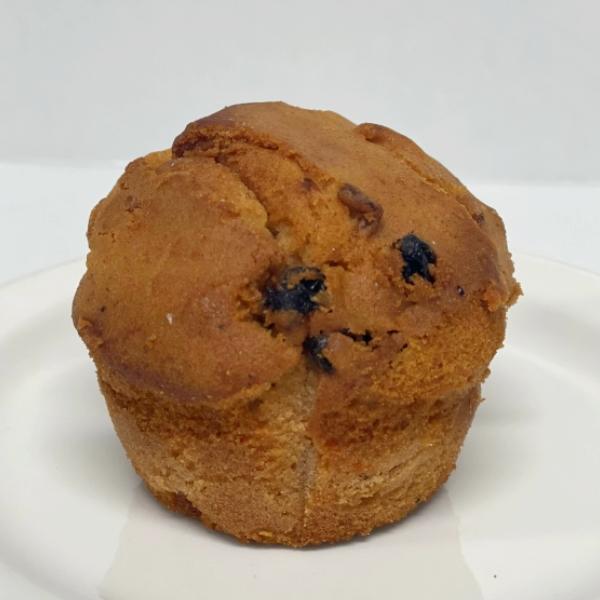 Muffin carottes raisins